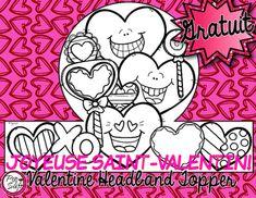 Create fun headbands to celebrate Valentine's Day  La Saint-Valentin!
