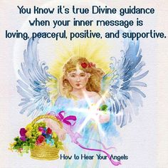 True divine guidance from God is always peaceful and calm, even if it's warning you of danger. We receive true guidance as feelings, thoughts, visions, words, and signs.  Usually true guidance is quiet, and needs us to meditate or calm our mind to hear it. But when there's potential danger, true guidance comes through loud and clear in a very loving and peaceful way.  True guidance is direct and to-the-point, so there's no confusion about its message. False guidance is verbose and…