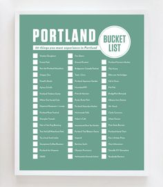 Portland Bucket List: 50 things you must experience in Portland, Oregon