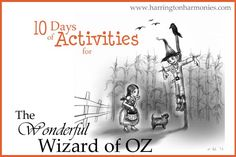 10 days of The Wonderful Wizard of Oz Activities to accompany the classic book by L. Each day find freebies, giveaways, art tutorials and more for your homeschool. Drama Education, Drama Class, Kansas Day, Wizard Of Oz Book, Middle School Writing, About Time Movie, Chapter Books, Activity Days, Classic Books