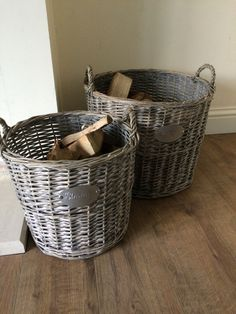 Wood baskets - NEXT