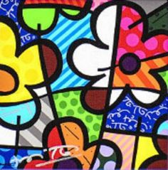 Botanical Garden by Romero Britto (9 pieces)