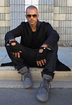 Shemar Moore will always be the sexiest man alive to me! <3 <3