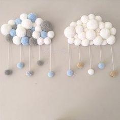 ⭐️☁️⭐️ FaMiLy PoRtRaIt ⭐️☁️⭐️ • • Ç est si rare d'avoir deux creations différentes dans les mêmes tonalités que je ne pouvais pas passer à côté de cette photo pour vous souhaiter une belle journée • • • #poomcloud #cloud #nuage #nuagepompon #pompon #twins #wool #mint #bleu #deco #decoration #homedecor #kidsroom #babyroom #decochambre #chambreenfant #cadeau #naissance #douceur #sweet #sweetpoom #creation #pastel #instadeco #picoftheday #faitmain #handmade #babyboy #kids #baby