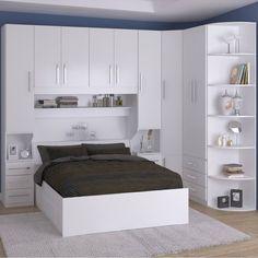 Bedroom Built In Wardrobe, Small Master Bedroom, Bedroom Closet Design, Bedroom Furniture Design, Home Decor Bedroom, Modern Bedroom, Pallet Furniture, Bedroom Cupboard Designs, Bedroom Cupboards
