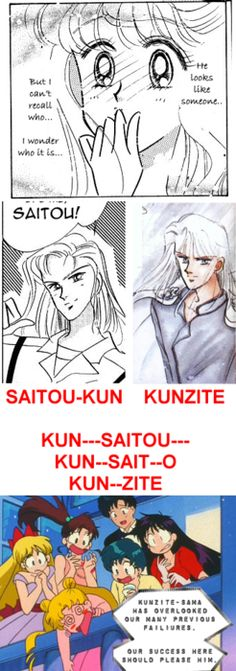 Fuck Yeah, Shitennou & Senshi!!, The first appearance/mention of Kunzite was...