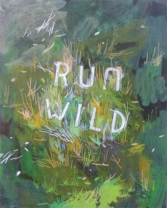 ➳➳➳☮American Hippie Art - Run Wild