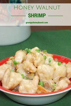 Honey Walnut Shrimp - crispy cooked shrimp coated with a sauce that is a mix of sweet and savory!