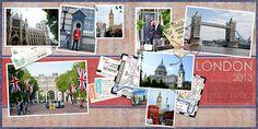 Using the Flip-Pal Scanner for Digital Scrapbook Travel Pages #flippal #travel