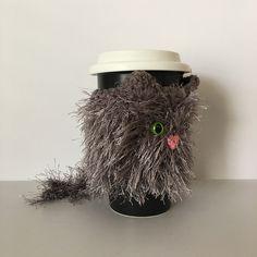 Ravelry: Cat Mug Cozy pattern by Angela Doherty dba HookedbyAngel