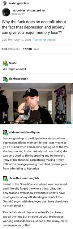 Mental And Emotional Health, Mental Health Awareness, Tumblr Funny, Funny Memes, Jokes, Weird Facts, Fun Facts, The More You Know, Faith In Humanity