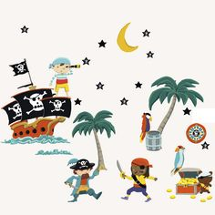 facebook stickers pirate: facebook stickers pirate