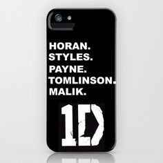 One Direction iPhone Case by Amy. - $35.00