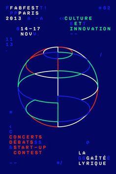 fabfest 2013 poster - Chevalvert