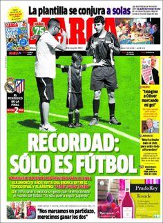Los Titulares y Portadas de Noticias Destacadas Españolas del 15 de Mayo de 2013 del Diario Deportivo Marca ¿Que le parecio esta Portada de este Diario Español?