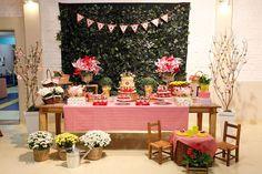 imagem para decoração de festa tema flores - Pesquisa Google