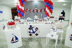 Festas Tia Nu - Festas Personalizadas: Festa personalizada Ursinho Marinheiro
