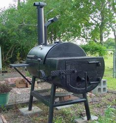 How to build a 250 Gallon BBQ SMoker