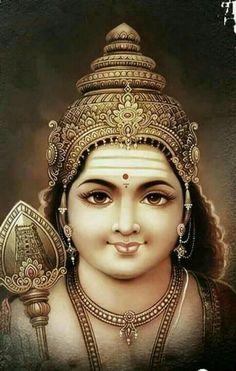 Skanda Shasti 2019 celebrates the birth of Skanda, the powerful son of Lord Shiva. Lord Shiva Pics, Lord Shiva Hd Images, Lord Shiva Family, Lord Ganesha Paintings, Lord Shiva Painting, Krishna Painting, Lord Murugan Wallpapers, Saraswati Goddess, Durga