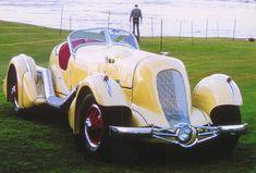 1935 Duesenberg Mormon Meteor Speedster Cream fvr