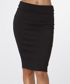 a4ceefdc51 Another great find on  zulily! Black Pencil Skirt  zulilyfinds Dyt Type 4  Clothes