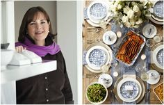 If anyone's a pro at holiday entertaining, it's cookbook author and Food Network star Ina Garten. She's the chef behind our Hanukkah menu this year, so we took the opportunity to ask her for all he...
