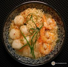 #1309: YumYum Oriental Style Instant Noodles Seafood Flavour | The Ramen Rater