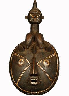 SOLD African Baule Harvest Festival Mask 28
