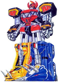 Daizyujin. My favorite Super Sentai Mecha. You never forget your first.