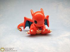 Cute Clay Charizard