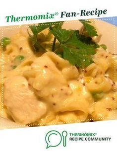 Chicken and Creamy Mustard Pasta by KrissyB A Thermomix recipe in the category Pasta rice dishes on the Thermomix Community Thermomix Recipes Healthy, Vegan Recipes Easy, Savoury Recipes, Yummy Recipes, Rice Dishes, Food Dishes, Main Dishes, Vegan Breakfast Recipes, Dinner Recipes