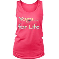 Best Quality Yoga for Life Printed Tank Tops for Women