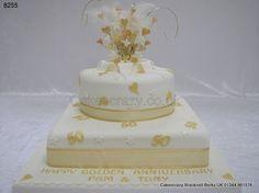 Best 50th Wedding Anniversary Cakes Http Mycakedecors