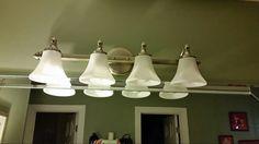 Existing light fixtures