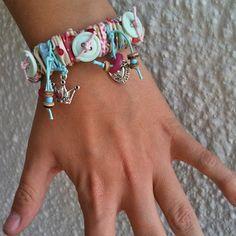 Sew simple bracelet