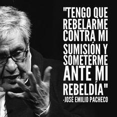 José Emilio Pacheco, falleció un día como hoy, pero de 2014