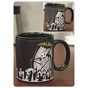 Nightmare Before Christmas Jack Scary Face Mug. Add some Halloweentown flair to your mug collection! High-quality mug featuring Santa Jack Skellington from The Nightmare Before Christmas! Makes a great gift! Add some Halloweentown flair to your mug collection, with this Nightmare Before Christmas Santa Jack scary face mug! This high quality mug each features Jack Skellington. Measures about 4-inches tall. Order yours today! Ages 14 and up.. Price: $13.99