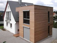 wooden extension