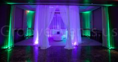 Creative lighting by GrooveEvents.us