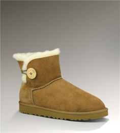 UGG Mini Bailey Button 3352 Chestnut Boots http://www.salesnowboots.com/ugg-mini-bailey-button-3352-chestnut-boots-p-382.html