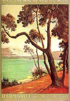 Le Cap Ferret by Ch. Hallo (1920)
