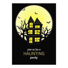Creepy signs halloween invitation halloween invitations stopboris Images