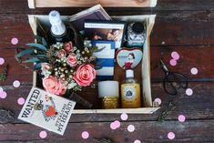 "Make a ""Valentine's Day in a Box"" 
