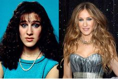 celebrities then and now | Sarah Jessica Parker | Then and Now