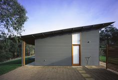 Angled roof