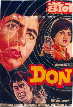 "Don (1978) This Amitabh Bachchan, Zeenat Aman, Pran starer was directed by Chandra Barot. Script was by Salim-Javed. Music by 	Kalyanji Anandji had super hit songs like ""Yeh Mera Dil"", ""Jiska Mujhe Tha Intezar"", ""Main Hoon Don"", ""Yeh Hai Bombay Nagaria"" and the super ""Khaike Pan Banaraswala"".  The script that was initially rejected by the entire film industry, turned out to be a blockbuster and is a cult classic."