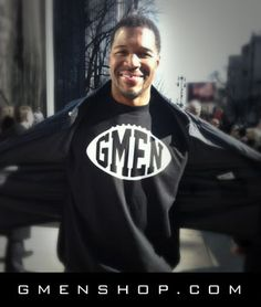 New York Giants custom tees by Michael Strahan. http://gmenshop.com/