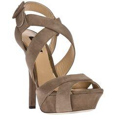 DOLCE & GABBANA strappy stiletto sandal ($745) ❤ liked on Polyvore