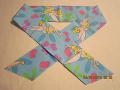 """Extra Wide 3"""" Reusable Non-Toxic Cool Wrap / Neck Cooler  - Kids Prints - Girls - Large Tinkerbell - CLEARANCE by ShawnasSpecialties on Etsy"""