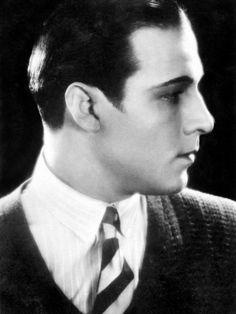 Valentino, the first cinema superstar, had style